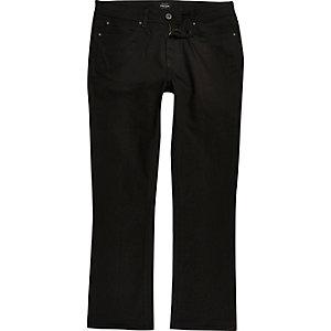 Clint - Zwarte bootcut jeans