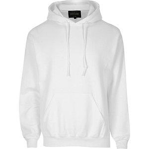Witte casual hoodie