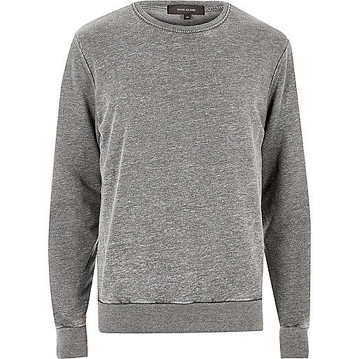 Charcoal grey sweatshirt