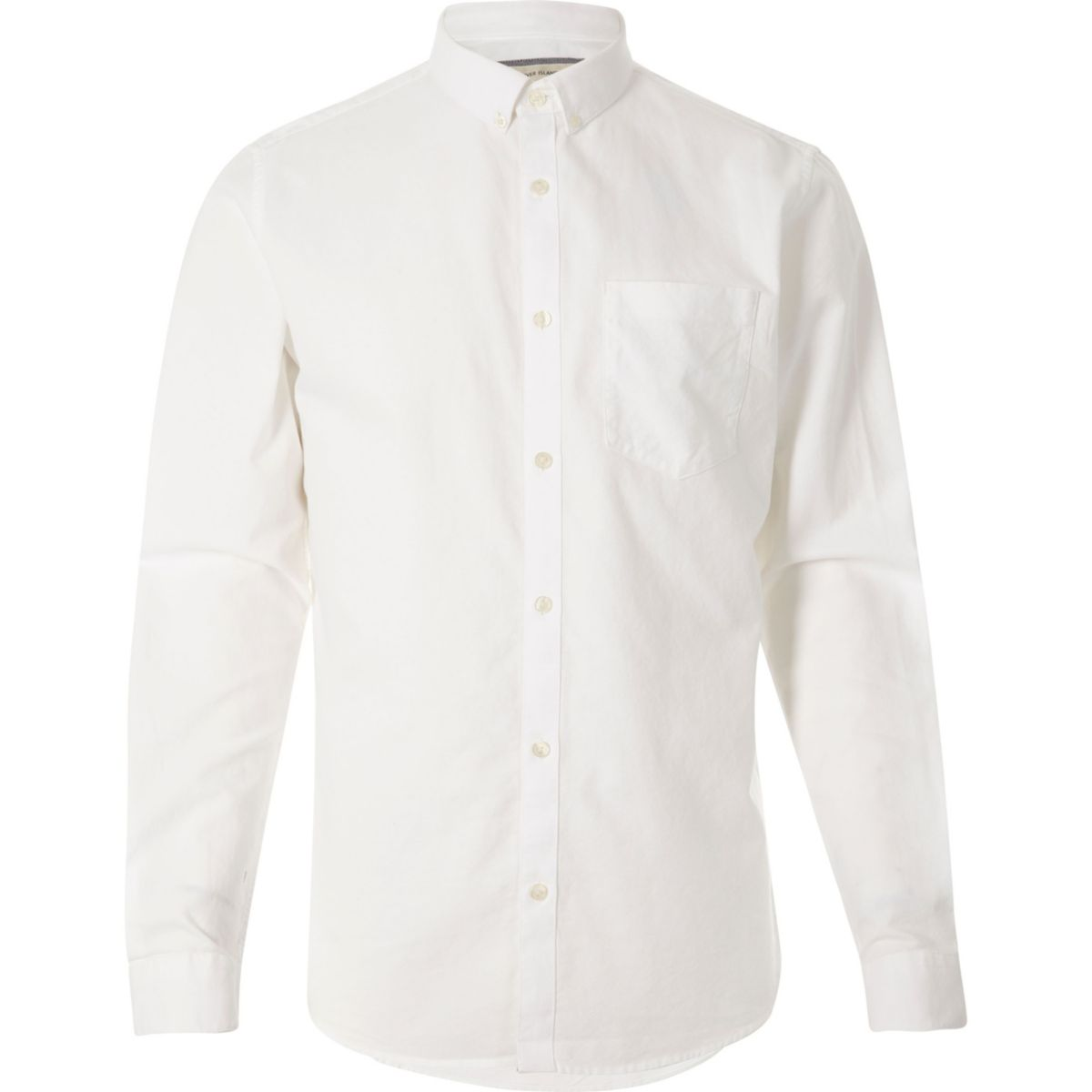 White long sleeve button down oxford shirt shirts sale for Oxford long sleeve button down shirt
