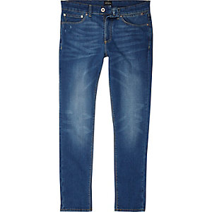 Jean skinny Sid bleu moyen