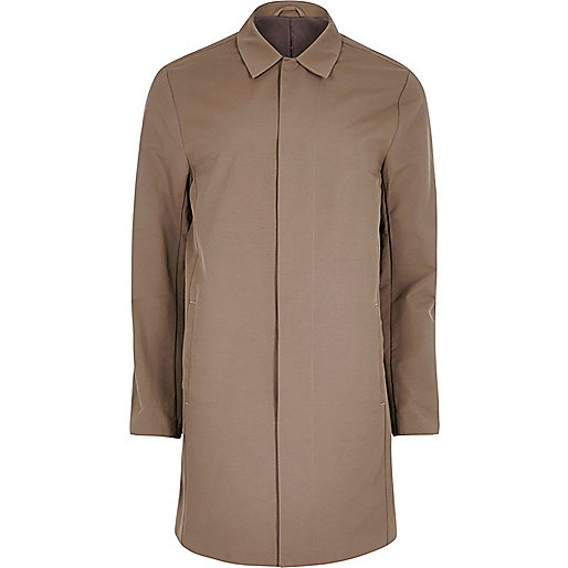 Brown smart mac coat