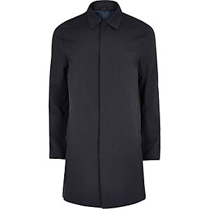 Navy smart mac coat