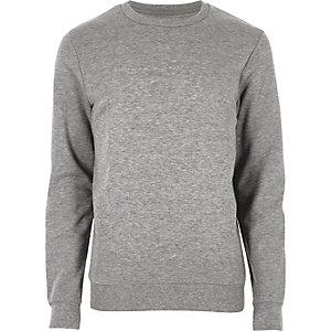 Grey marl sweatshirt