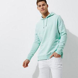 Mint green hoodie