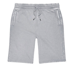 Grijze burnout joggingshort