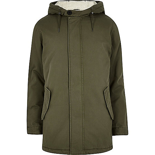Green Only & Sons parka jacket