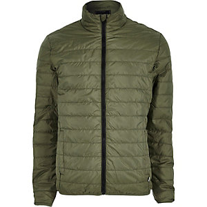 Only & Sons - Grüne Steppjacke