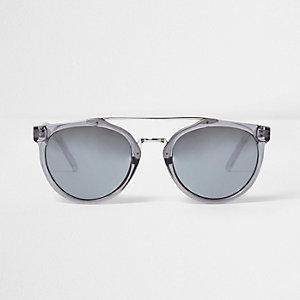 Graue Pilotensonnenbrille