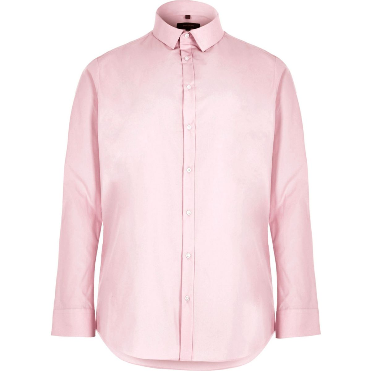 Big and Tall pink slim fit smart shirt