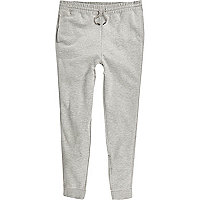 Big and Tall grey marl joggers