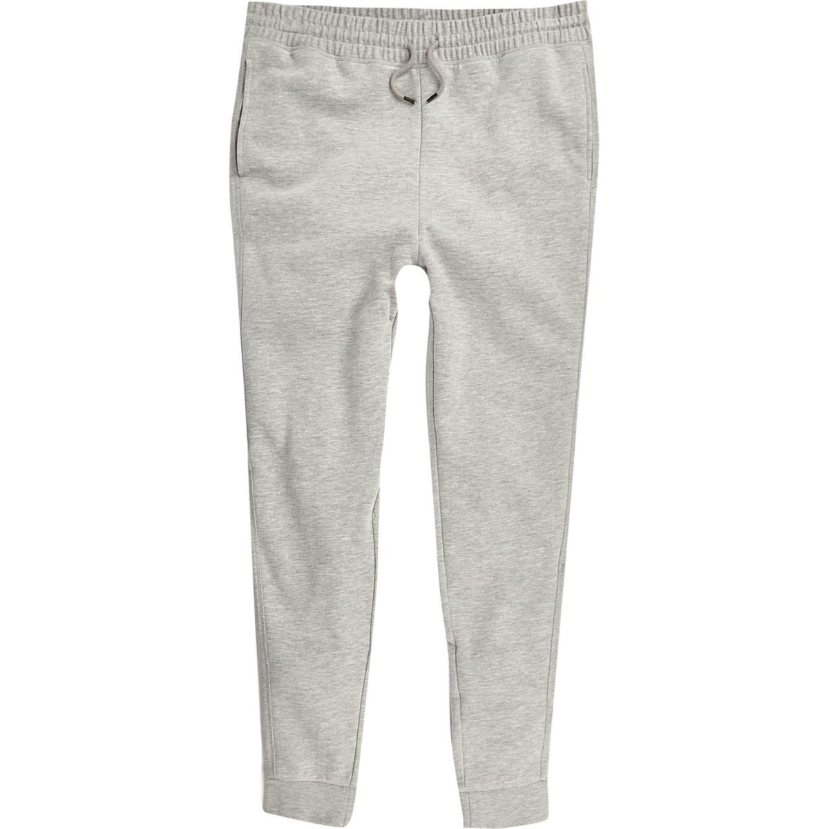 Big and Tall - Gemêleerd grijze joggingbroek