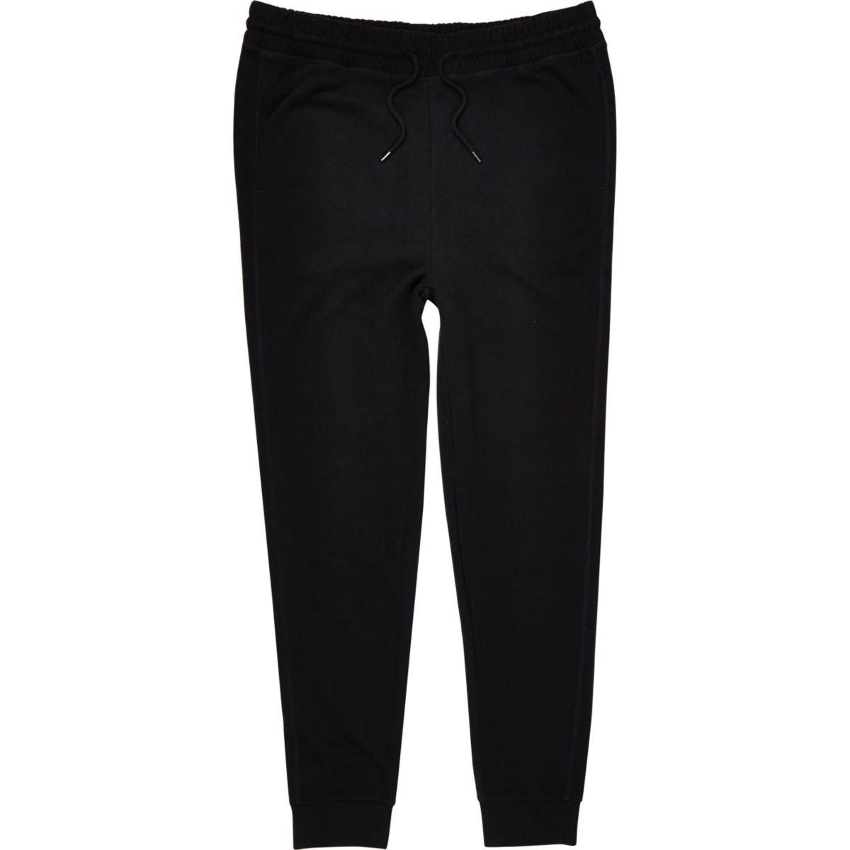 Pantalon de jogging Big & Tall en jersey noir
