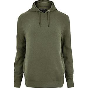RI Big and Tall - Groene zachte hoodie