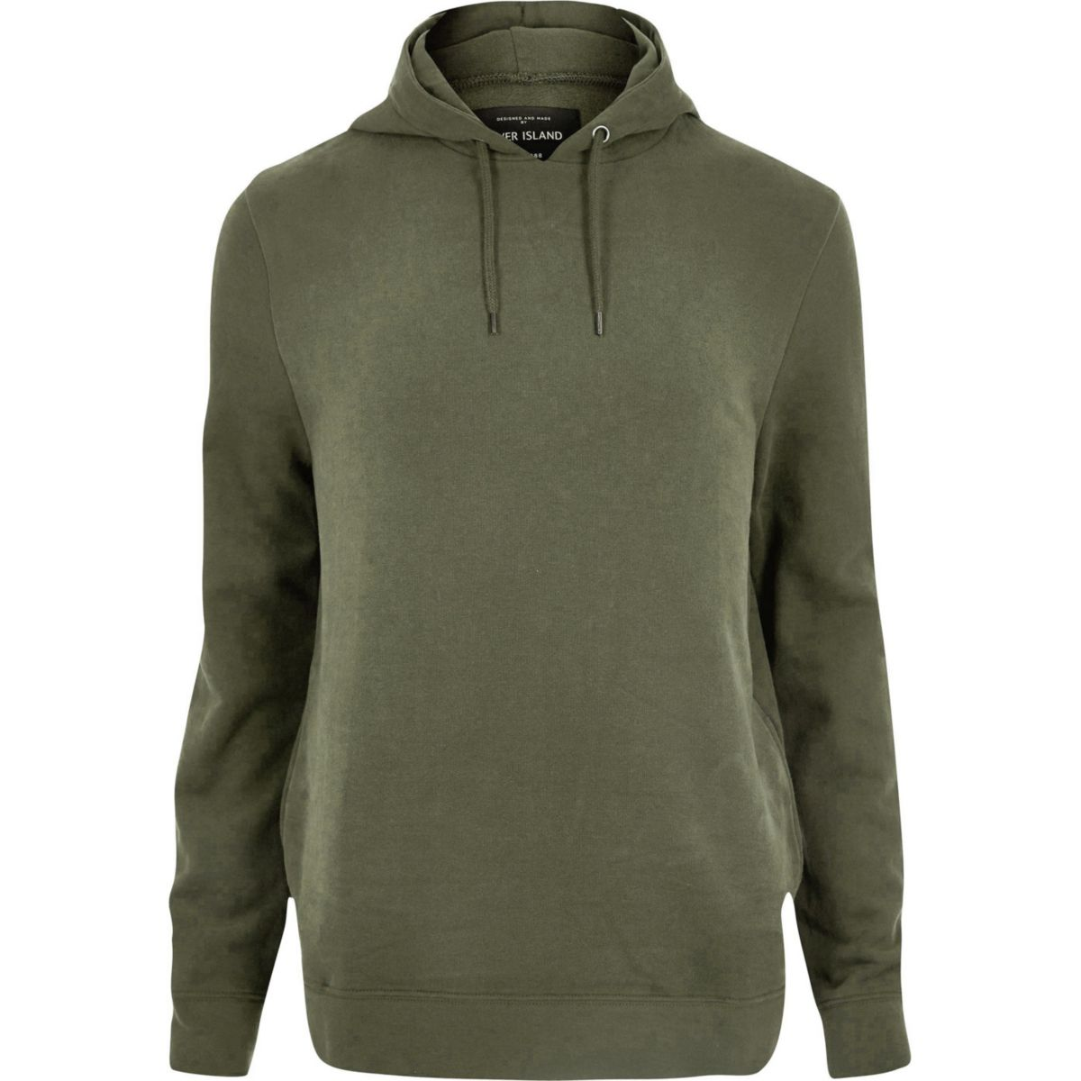 Big and Tall green soft hoodie