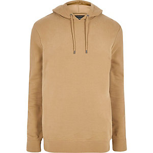 Big and Tall brown hoodie