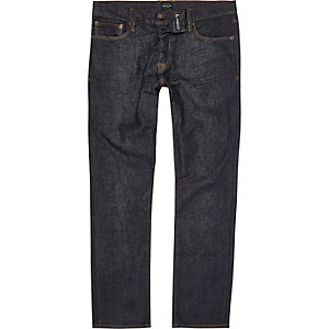 Dark blue Dylan slim fit jeans
