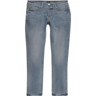Dylan Medium vaalblauwe slim-cut jeans