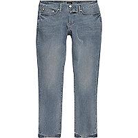 Dylan – Slim Cut Jeans in Mittelblau