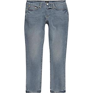Dylan - Medium vaalblauwe slim-cut jeans
