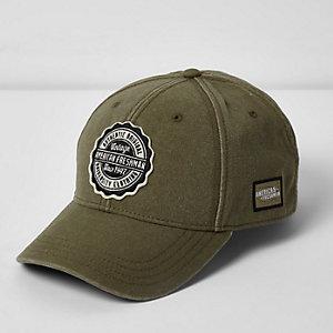 Dark green American Freshman cap
