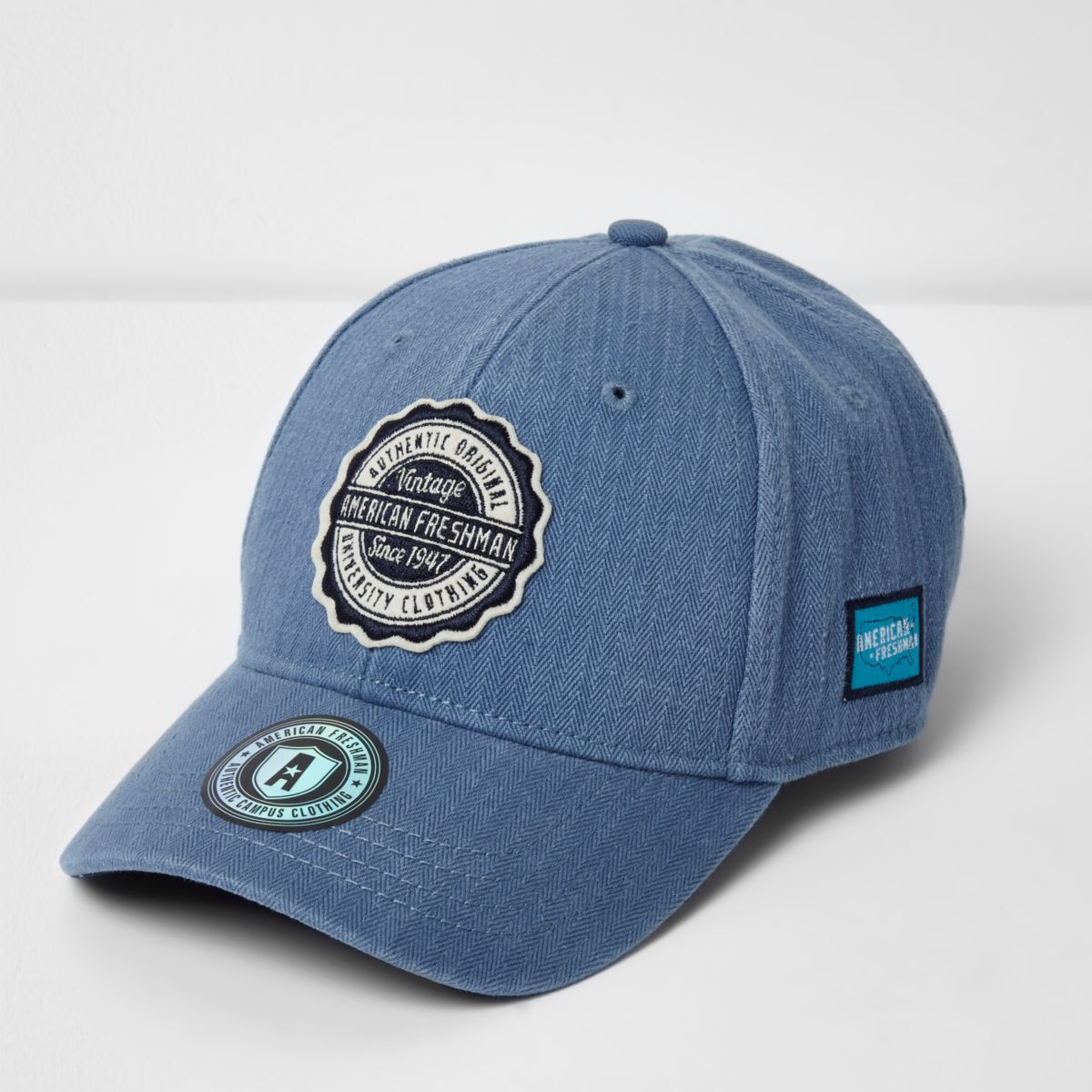 Light blue American Freshman cap