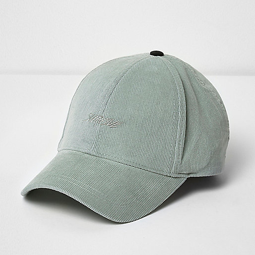 Green cord 'survive' cap