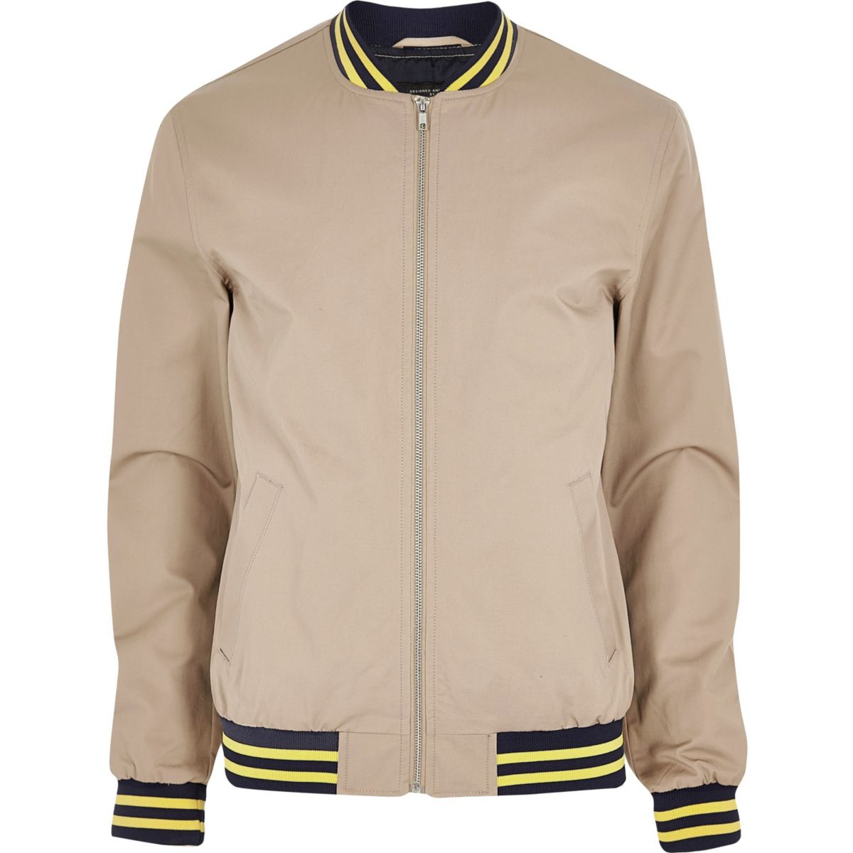 Light brown bomber jacket - Coats & Jackets - Sale - men