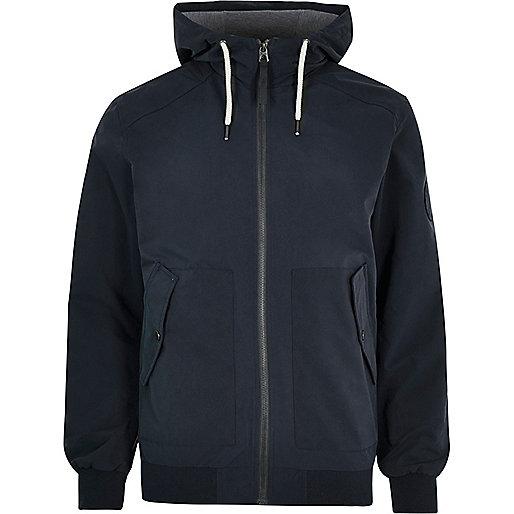 Dark blue Jack & Jones lightweight jacket