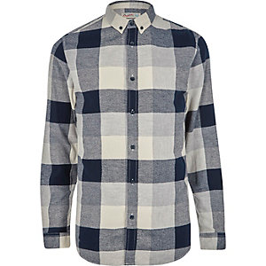 Grey Jack & Jones check shirt
