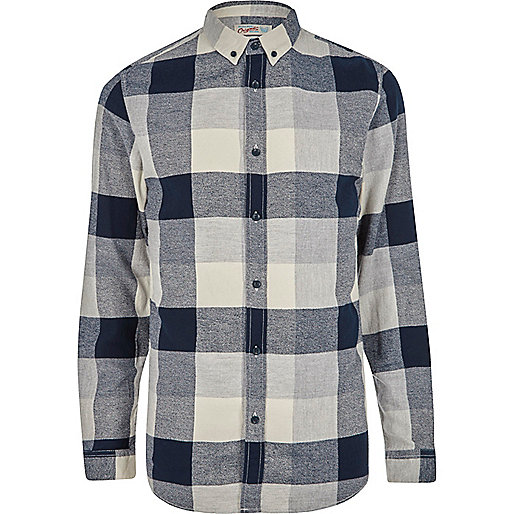 Grey Jack & Jones check shirt