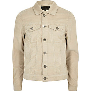 Light beige cord jacket