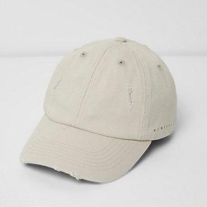 Stone '1996' print distressed cap