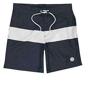 Jack & Jones – Marineblaue Badeshorts