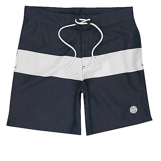 Navy Jack & Jones board swim trunks
