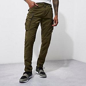 Jack & Jones Vintage –Pantalon cargo vert