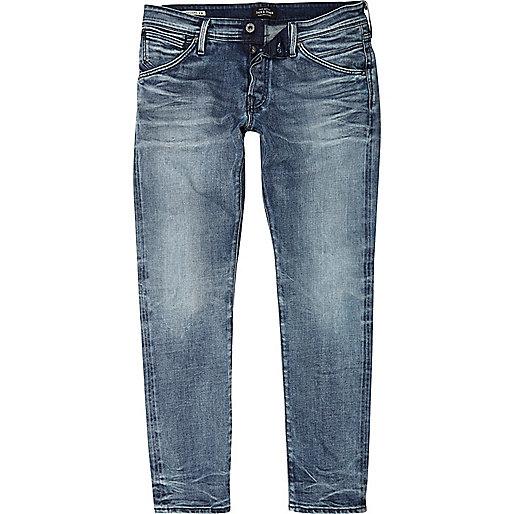 Mid blue Jack & Jones slim fit jeans