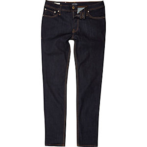 Jack & Jones – Blaue Skinny Fit Jeans