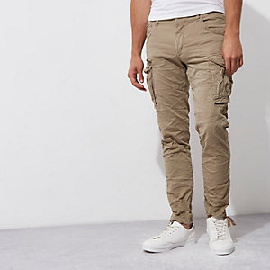 Green Jack & Jones cargo trousrers