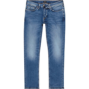 Mid blue wash faded slim fit Dylan jeans