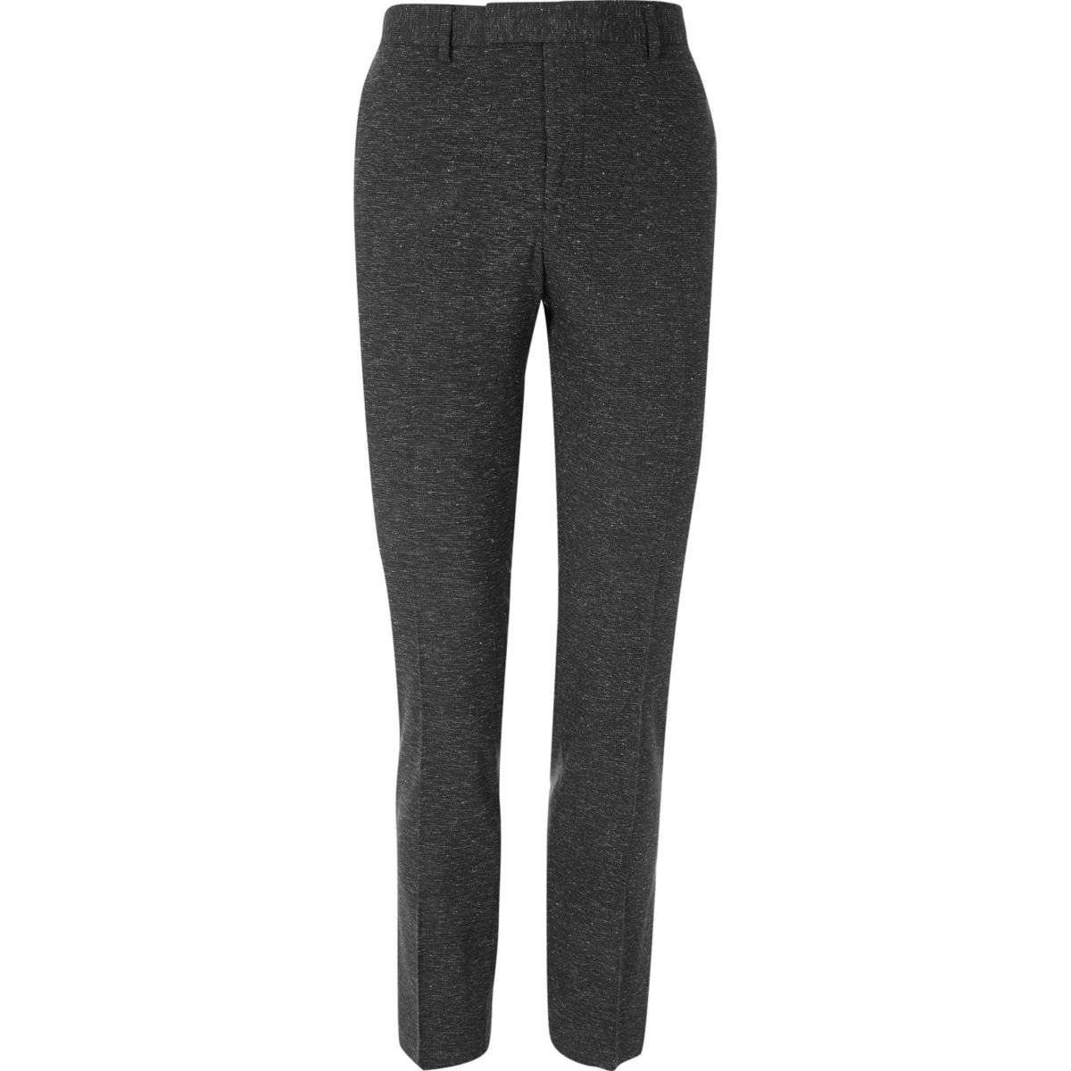 Zwarte superskinny-fit pantalon