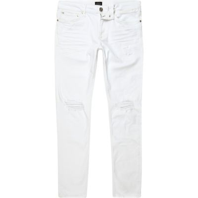 Sid Witte wash ripped skinny jeans