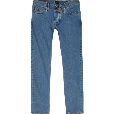 Dylan Lichtblauwe wash slim-fit jeans