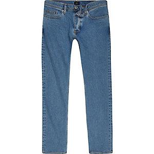 Dylan - Lichtblauwe wash slim-fit jeans
