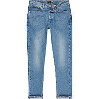 Jimmy – Pantalon fuselé slim bleu clair