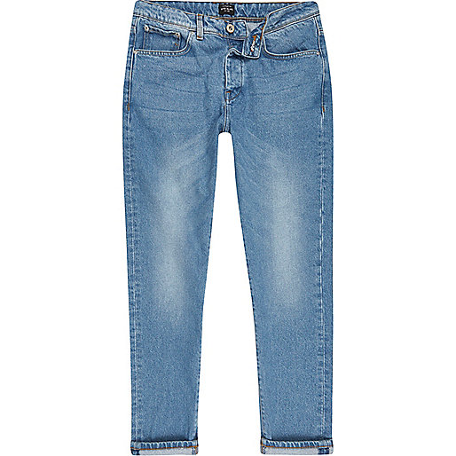 Light blue Jimmy slim tapered jeans