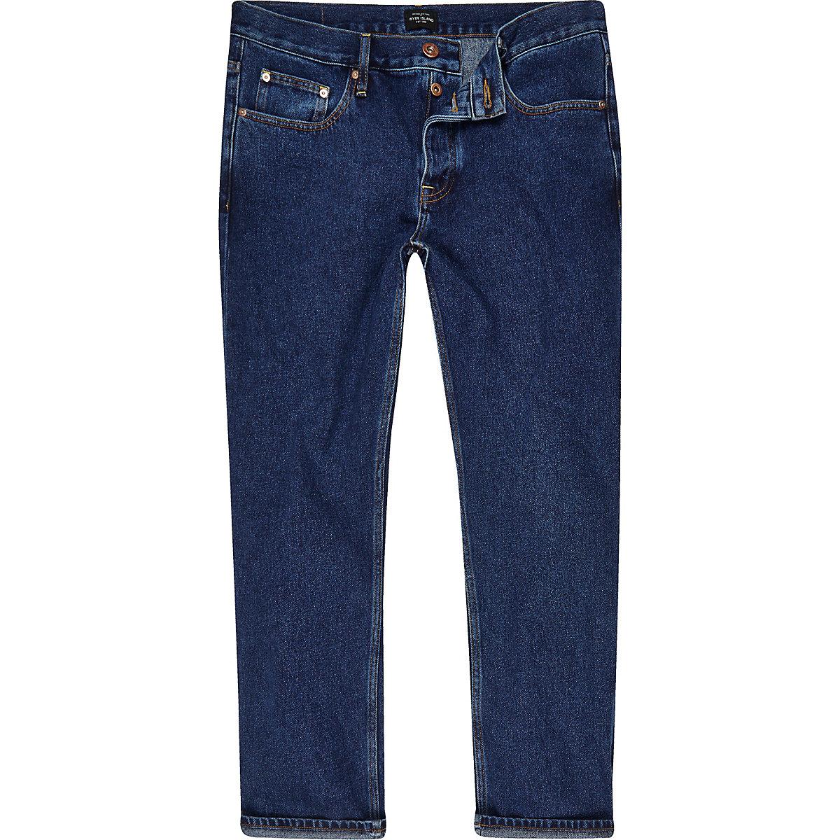 Dark blue Cody loose fit jeans