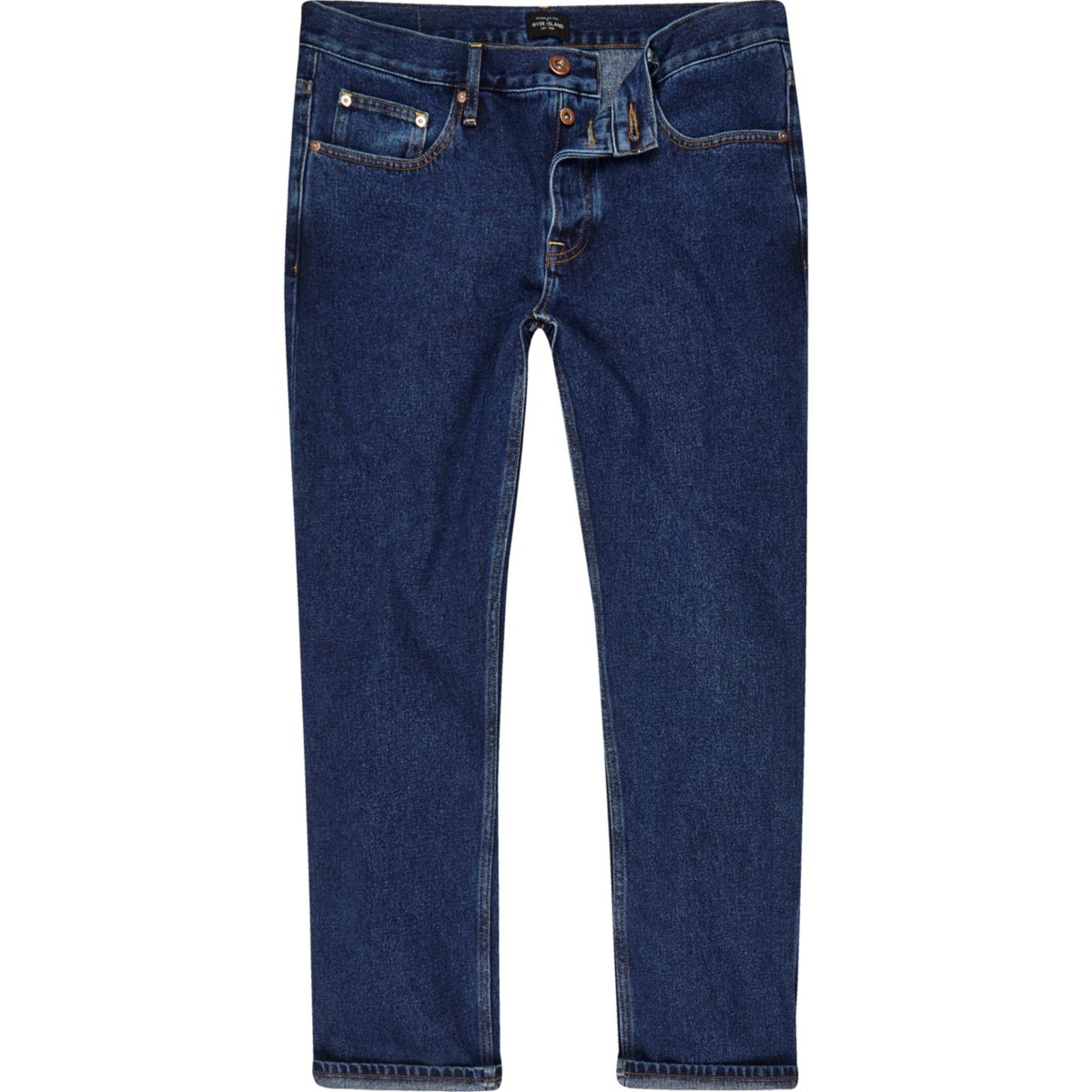 Cody – Dunkelblaue Loose Fit Jeans