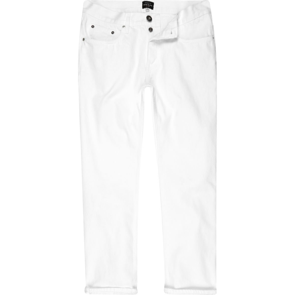 White Cody loose fit jeans