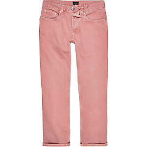 Cody – Legere Jeans in pinker Waschung